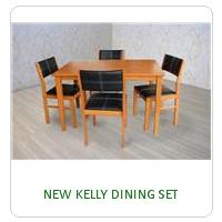 NEW KELLY DINING SET